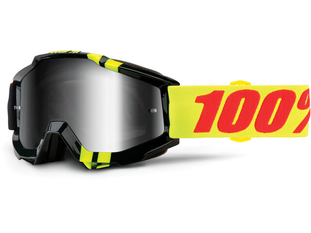 100% Accuri Anti Fog Mirror Goggles sort